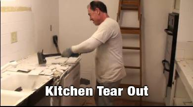 Kitchen Tear Out